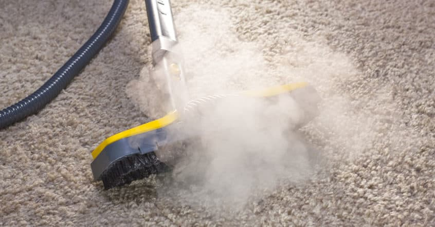 Hot water extraction or Steam Cleaning