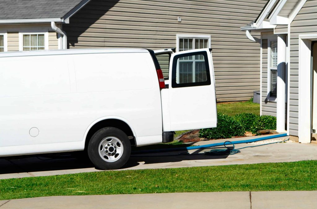 carpet cleaner arriving at your residents in Adelaide, South Australia