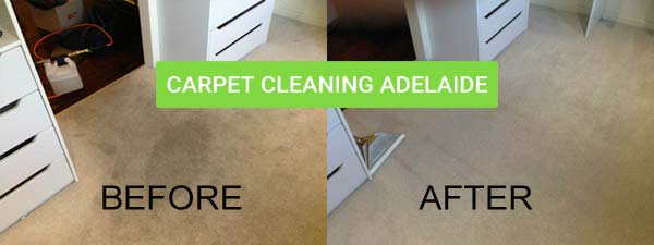our carpet cleaning results - before and after